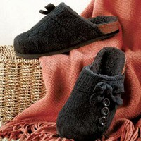Knit Clogs with Sherpa Lining in 8, 9 or 10
