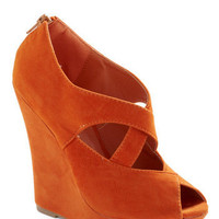 Oh My Darling Wedge | Mod Retro Vintage Wedges | ModCloth.com