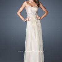 La Femme Dress 18544 at Peaches Boutique
