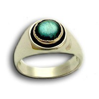 Labradorite unisex ring Sterling silver and by artisanimpact