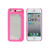 Amazon.com: Creative Writing Drawing Doodle Scribble Board Pad Case Cover for iPhone 5 6th Hot Pink: Cell Phones & Accessories