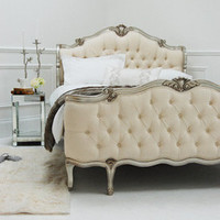 Willows Shell Carved Bed - Silver - Sweetpea & Willow London