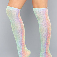 The Rainbow Dots Trouser Knee High Sock : *The Extras : Karmaloop.com - Global Concrete Culture