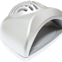 MelodySusie Sliver Protable Mini Cute Size Handy Nail Dryer for Drying Nail Polish, Acrylic Nail