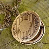 Art Deco Locket - $24.00 : RagTraderVintage.com, Handmade Indie Retro Accessories