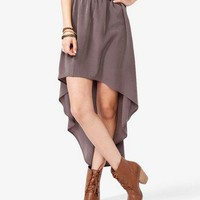 Flowy High Low Skirt | FOREVER 21 - 2022531856