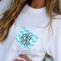 Monogrammed Pocket Long Sleeve Tee