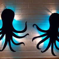 $100.00 Octopus Lamps by itllglowonyou on Etsy