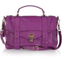 Proenza Schouler|PS1 Medium leather satchel|NET-A-PORTER.COM