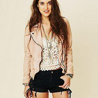 Free People Clothing Boutique &gt; Muubaa Athena Biker Jacket