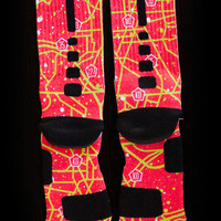 Thesockgame.com — KD5 DMV - Custom Nike Elite Socks
