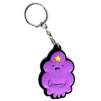Adventure Time Lumpy Space Princess 3-d Rubber Keychain