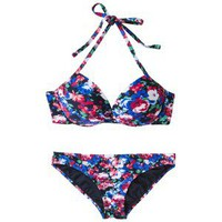 Xhilaration Juniors 2-Piece Bikini Swimsuit -Multicolor Floral Print