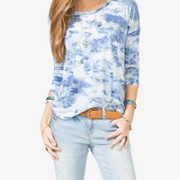 Tie Dyed Long Sleeve Knit Top | FOREVER 21 - 2000049626