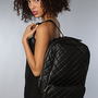 The Coco Quilted Backpack in Black : Nila Anthony : Karmaloop.com - Global Concrete Culture