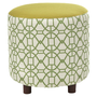 I love the Johari Ottoman in Chartreuse in the Global Inspiration event at Joss and Main!