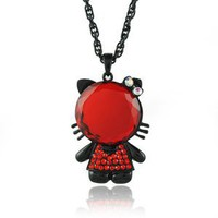 Red Rhinestone Hello Kitty