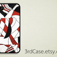 iPhone 4 Case iPhone 4s Case iPhone 5 Case abstract