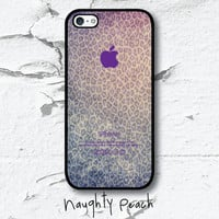 iPhone 5 Case  Leopard Fantazy TWO Black case by NaughtyPeach