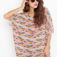 Indio Oversized Dress in  What's New at Nasty Gal