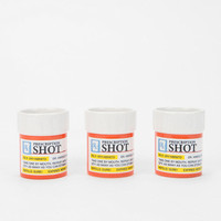 Prescription Shot Glass - Set Of 3