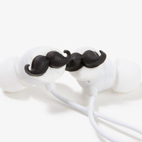 Mustache Earbuds | FOREVER 21 - 1047396645