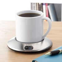 Desktop Mug and Coffee Cup Warmers at Brookstone—Buy Now!
