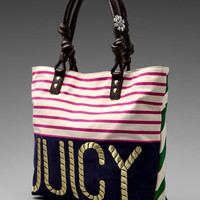 Juicy Couture Sailor Girl Canvas Tote in Multi from REVOLVEclothing.com