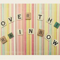 over the rainbow print by Simply Hue at ShopRuche.com, Vintage Inspired Clothing, Affordable Clothes, Eco friendly Fashion