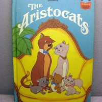 1973 Aristocats Vintage Disney Book by VintageWoods on Etsy