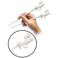 ThinkGeek :: Unicorn Chopsticks