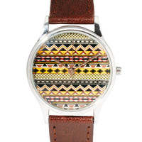 ASOS Fairisle Face Watch