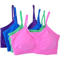2 or 4 PACK: Anenome Seamless Removable Strap Bras