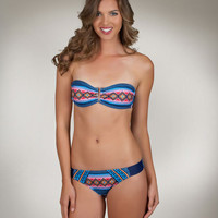 Navy Bandeau Bikini | Hurley Swimwear | Womens Bathing Suits