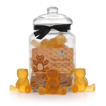 Honey Bear Soaps Apothecary Gift Jar by AniselleSoaps on Etsy