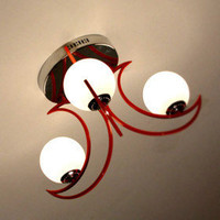 Modern Ceiling Light with 3 lights (Glass Shape) - $133.44