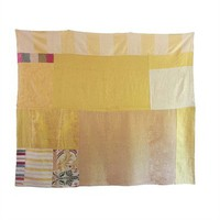 Silk Gold Quilt by ao textiles at Seek & Adore