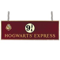 Harry Potter Hogwarts Express Wooden Sign - NECA - Harry Potter - Prop Replicas at Entertainment Earth