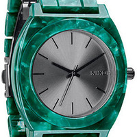 The Time Teller Acetate Watch in Emerald : Nixon : Karmaloop.com - Global Concrete Culture