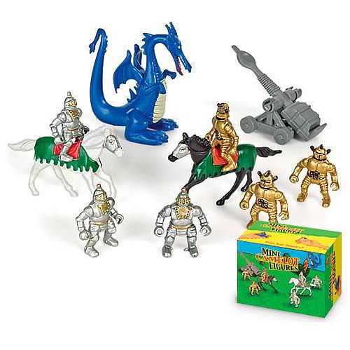 Mini Camelot Figure Set - Accoutrements - Historical Figures - Mini-Figures at Entertainment Earth
