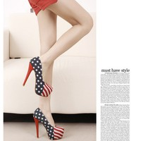 High Heels Waterproof Nightclub Shoes