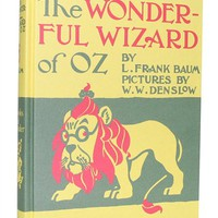 The Wizard of Oz hardcover book | Outofprintclothing.com
