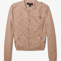 Quilted Biker Jacket | FOREVER 21 - 2023212037