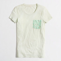 Factory sequin pocket tee