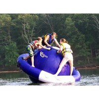 Amazon.com: AVIVA Saturn 8' with Duraskin Water Trampoline: Toys & Games