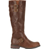 City Snappers Womens Riding Boots Brown  In Sizes
