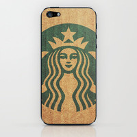 Starbucks Addict iPhone & iPod Skin by Shaun Lowe | Society6