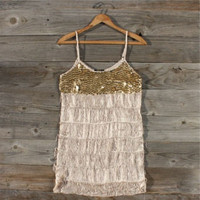 Flapper Sequin Party Dress, Sweet Women's Country Clothing