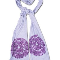 Organic Shapes Scarf: Soul-Flower Online Store