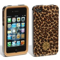 Amazon.com: Tory Burch iPhone 4 4S Phone Case in Little LEOPARD for ATT Verizon: Cell Phones & Accessories